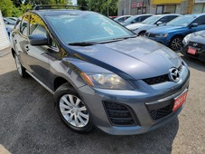 used 2011 mazda cx-7 gx clean carfax sunroof leather p.seats alloys for sale in scarborough, ontario carpages.ca