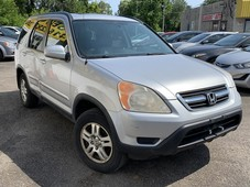 used 2002 honda cr-v ex l awd leather roof loaded alloys for sale in scarborough, ontario carpages.ca