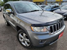 used 2011 jeep grand cherokee limited 4wd navi camera leather roof loaded alloys for sale in scarborough, ontario carpages.ca