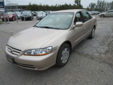 used 2001 honda accord lx great service for sale in newmarket, ontario carpages.ca
