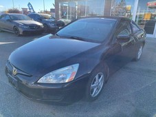used 2003 honda accord cpe ex coupe manual leather sunroof for sale in calgary, alberta carpages.ca