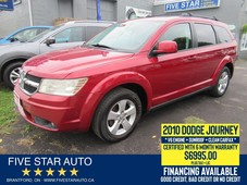 used 2010 dodge journey sxt v6 clean carfax certified 6 month warranty for sale in brantford, ontario carpages.ca