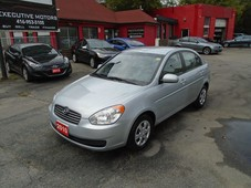 used 2010 hyundai accent gl low km a c pwr options cruise fuel save for sale in scarborough, ontario carpages.ca