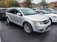 used 2014 dodge journey r t no accidents awd navi leather sunroof v6 heated seats & wheel for sale in huntsville, ontario carpages.ca