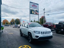 used 2014 jeep compass north 4wd only 95 bi-weekly clean car fax for sale in truro, nova scotia carpages.ca