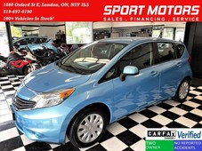 used 2014 nissan versa note s camera bluetooth aux clean carfax for sale in london, ontario carpages.ca