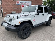 used 2015 jeep wrangler sahara unlimited 4x4 3.6l one owner safety include for sale in cambridge, ontario carpages.ca