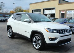 used 2017 jeep compass limited for sale in brampton, ontario carpages.ca