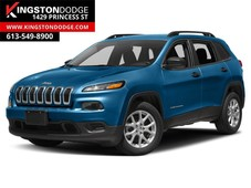 used 2018 jeep cherokee sport altitude 4x4 heated steering wheel heated seats for sale in kingston, ontario carpages.ca