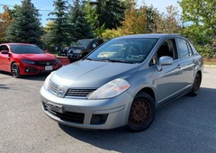 used 2007 nissan versa certified 3 years of warranty for sale in kitchener, ontario carpages.ca