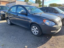 used 2009 hyundai accent man l for sale in mississauga, ontario carpages.ca