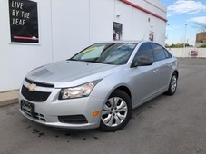 used 2013 chevrolet cruze ls-6 speed-loaded-only 115kms-certified-we finance for sale in toronto, ontario carpages.ca