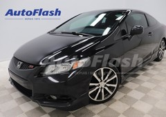 used 2013 honda civic coupe si hfp 201-hp m6 cuir-leather toit roof for sale in saint-hubert, quebec carpages.ca