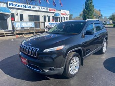 used 2014 jeep cherokee limited for sale in stoney creek, ontario carpages.ca