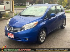 used 2014 nissan versa note sl no accident navigate bluetooth camera certified for sale in oakville, ontario carpages.ca