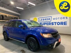 used 2015 dodge journey crossroad awd navigation heated leather seats sunroof 7 passenger over head dvd player alpine audio system remote start 225 65 17 wi for sale in cambridge, ontario carpages.ca