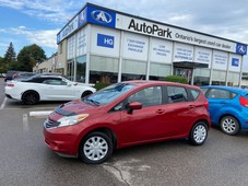 used 2015 nissan versa note 1.6 sv rear camera heated door mirrors bluetooth for sale in brampton, ontario carpages.ca