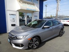 used 2016 honda civic ex-t, turbo, sunroof, htd seats, cameras, sensing for sale in langley, british columbia carpages.ca