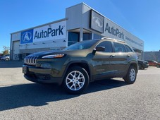 used 2016 jeep cherokee sport remote start front heated satellite radio rear-view camera for sale in innisfil, ontario carpages.ca