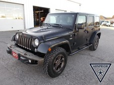 used 2017 jeep wrangler jk unlimited sahara for sale in arnprior, ontario carpages.ca
