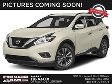 used 2017 nissan murano sv for sale in ottawa, ontario carpages.ca