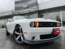 used 2019 dodge challenger r t 5.7l hemi v8 leather sunroof navi camera for sale in langley, british columbia carpages.ca
