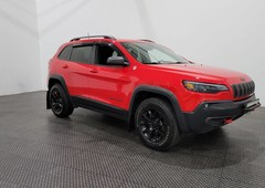 used 2019 jeep cherokee trailhawk awd - cuir - bluetooth for sale in laval, quebec carpages.ca