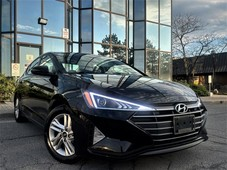 used 2020 hyundai elantra ivt sunroof alloys car play lane assist for sale in brampton, ontario carpages.ca
