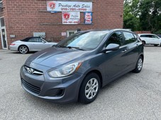 used 2013 hyundai accent gls 1.6l 6 speed no accidents safety included for sale in cambridge, ontario carpages.ca
