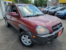 used 2007 hyundai tucson limited 4wd leather roof loaded alloys for sale in scarborough, ontario carpages.ca